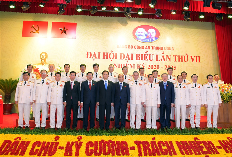 7th Public Security Party Congress officially opens in Hanoi